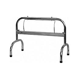 Porte de rouleaux de comptoir inox pour rouleaux de 350 mm