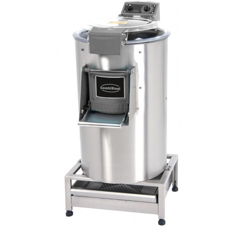 éplucheuse de pommes de terre avec filtre capacité 35 kg