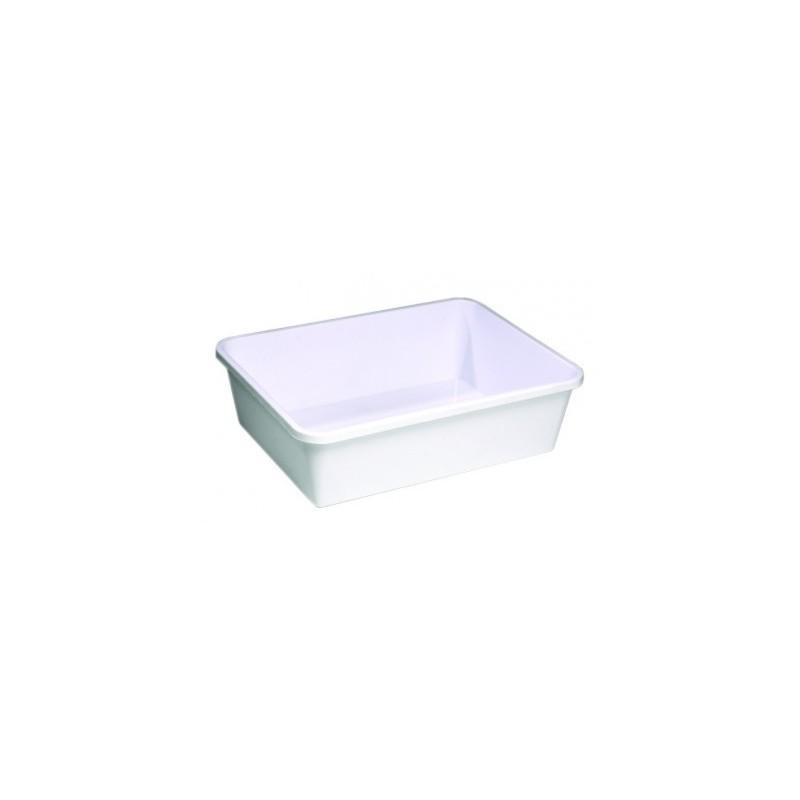 Bac à pâte rectangulaire 20 litres