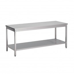 TABLE CENTRALE INOX AISI...