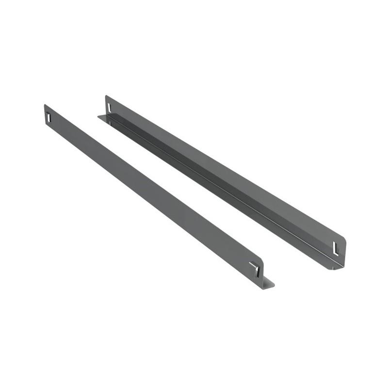 Paire de glissière pour meuble réfrigéré patissier profondeur 800 mm