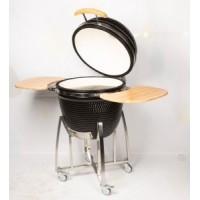 Barbecue Kamado en céramique au bois ou charbon de bois