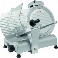 Trancheuses à jambon professionnel avec système à courroie avec des lames de diamètre 195 mm à 300 mm